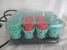 Clairol Lock N Roll Hot Curlers Rollers 24 Spoolies Model BT-3 Pageant Complete