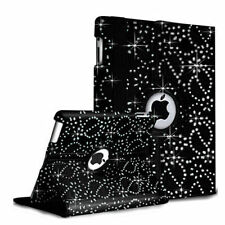 Leather Bling 360 Degrees Rotating Samsung Galaxy Tab 3- P3200 Case Cover stand