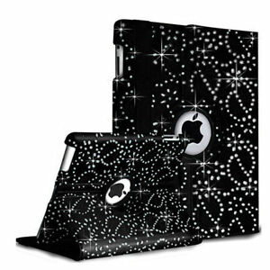 Leather Bling 360 Degrees Rotating Apple ipad 9.7 2017/18 and Ipad air 5/6