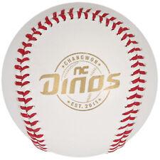 NC DINOS Cowhide Baseball Korea Baseball League White KBO Red Gold Leather