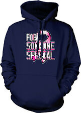 Pink Ribbon For Someone Special - Breast Cancer Awareness Hoodie Sweatshirt