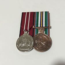 Aust. Defence & Anniversary of National Service Medals Replica Full Size Set.