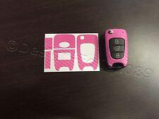 Carbon Pink Folie Schlüssel KIA Sportage Sorento Picanto Venga Soul Ceed Rio