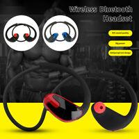 R8 Écouteur  Bluetooth Sans Fil Casque Stéréo In-ear Oreillette Tour Cou Sport