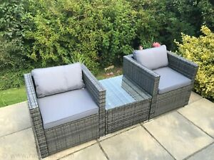 The Marlborough Range - PE Rattan Patio Garden Furniture Sets - UK STOCK