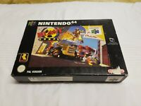 Blast Corps - Nintendo 64 N64 game- CIB UKV PAL - Boxed with protector