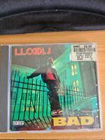 LL Cool J BAD - (Bigger And Deffer)  CD 1987. 1ST PRESS. OLD SCHOOL HIP HOP RAP