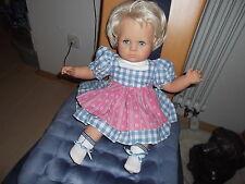 ZAPF-CREATION poupées fille, blonde, sitzbaby, env. 50 cm
