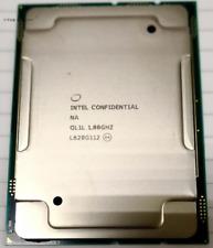 Intel Xeon Gold 6138F ES QL1L 1.8GHz 20 Core 40 Threads LGA3647 CPU Processor