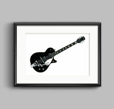 George Harrison's 1957 Gretsch Duo Jet guitar POSTER PRINT A1 size