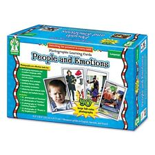Carson-Dellosa Photographic Learning Cards Boxed Set - D44044