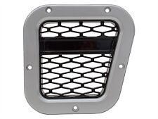 LAND ROVER DEFENDER XS AIR INTAKE GRILLE BLACK WITH SILVER MESH RHD PART-DA1971