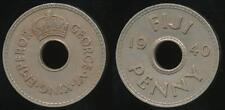 Fiji, Republic British Administration, 1940 Penny, 1d, George VI - EF