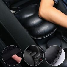 AUTO ACCESSORY Car Center Console Box  Armrest Soft Pad Cover  Black Pu Leather