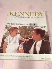 Kennedy and His Family in Pictures by the Editors of LOOK Magazine-IN MINT COND-