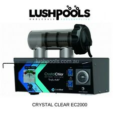 CRYSTAL CLEAR EC2000 20 Amp STD Salt Water Chlorinator - 5 YEAR  WARRANTY
