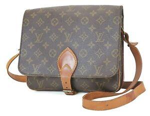 Authentic LOUIS VUITTON Cartouchiere GM Monogram Shoulder Bag Purse #40379