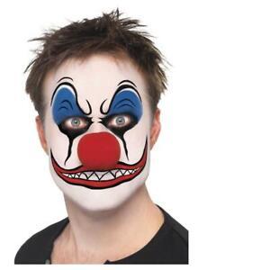 Adult's Make-Up Kit FX Clown Face Paints Fancy Dress Accessory