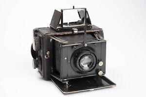 Antique Ernemann Miniature Klapp Folding Camera 6x4.5cm w/ Goerz Dogmar Lens