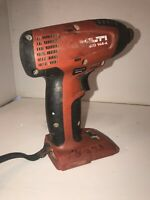 "Hilti SID 144-A 14.4 V Lithium Ion 1/4"" Hex Impact Driver Works perfectly"