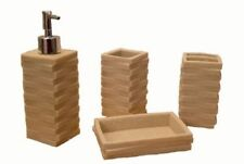 Unbranded Ceramic Striped Bathroom Accessories & Fittings