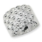 925 Sterling Silver HEAVY Keeper Ring LARGE SIZES Hallmarked 24 gram UK PRODUCT