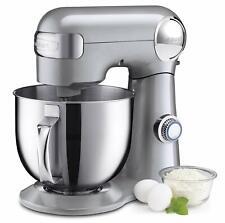 Cuisinart Precision Master 5.5-Quart Stand Mixer Brushed Chrome Brand New Best