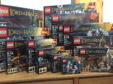 LEGO Il Signore degli Anelli The Lord Of The Ring complete collection 9474 10237