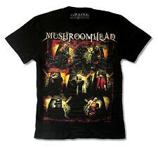 "MUSHROOMHEAD ""09 BAND PHOTO SMALL BACK IMAGE"" BLACK T-SHIRT NEW OFFICIAL SMALL"