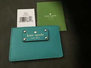 Kate Spade Wallet Credit Card Holder Wellesley Graham New w/Tag & Care Booklet