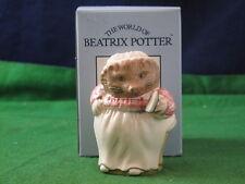 John Beswick Beatrix Satin Potter Mrs Tiggy-Winkle'' PS1107 Box USC RD3747