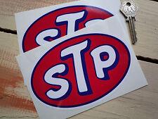 "Stp Aceite Auto Clásico pegatinas 6 ""par Race & Rally Dodge Bicicleta Americana Racing"