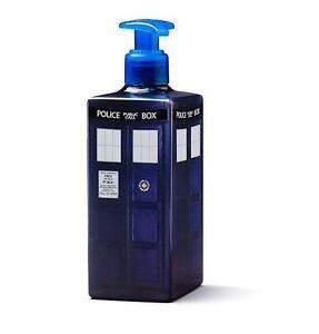 DOCTOR WHO TARDIS SOAP DISPENSER 300ML PLASTIC BRAND NEW