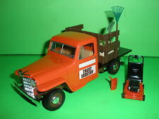 Liberty Classics 1953 WILLYS JEEP STAKE TRUCK 1:25 NEW Trust Worthy Hardware