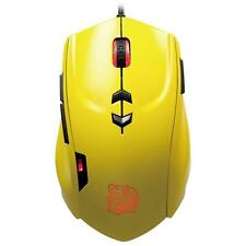 ThermalTake Theron Gaming USB Yellow Mouse TT eSports 5600 DPI - 7 LED Colours