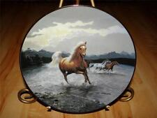 """Breakaway"" Untamed Spirits by Persis Clayton Weirs Horse Bradford Plate"