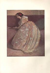1900 Viktorianisch Studio Aufdruck ~ The Diwan von John W.Alexander