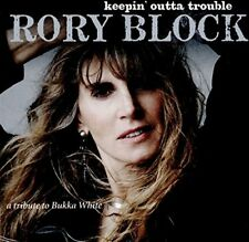 Rory Block - Keepin Outta Trouble (a Tribute To Bukka White) [CD]