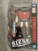 Transformers Hasbro War For Cybertron Siege Deluxe Sideswipe MISB