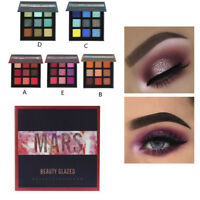 Shimmer Glitter Eyes Shadow Powder Palette Matte Eyeshadow Cosmetic Makeup