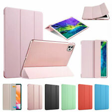 """For Apple iPad Pro 11"""" 12.9"""" 2020/2018 Slim Magnetic Stand PU Leather Smart Case"""