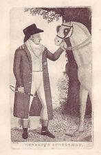John Kay Original Antigua William Ramsay Grabado. The Hon Maule, de Panmure, 1795