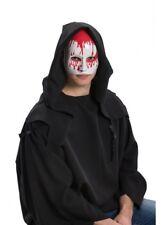 WHITE BLOODY Sangue a Goccia Maschera Zombie Halloween Costume Fantasma mezzo viso