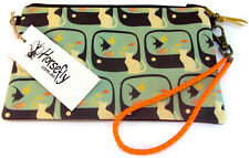 NEW Cat tobacco pouch bag wristlet purse handmade in Australia HORSEFLY