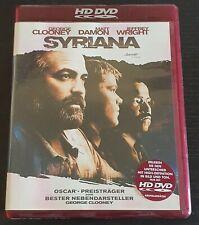 "GEORGE CLOONEY MATT DAMON ""SYRIANA"" HD-DVD DRAMA ACTION THRILLER"