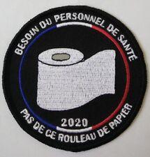 Écusson Pour Don Hôpital Infirmier Pompiers Police Gendarmerie Solidaire Virus