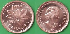 2009 Canada NonMagnetic Penny Graded as Brilliant Uncirculated