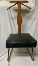 Vintage Mid Century Modern Setwell Co. Danish Mens Valet Butler Chair Stand USA