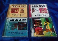 CHUCK BERRY-4CD Set-One Dozen Berrys/Juke Box Hits/You Never Can Tell/After Scho