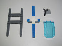Lego ® Lot Pack Hélicoptère Police Rotor + Pales + Pare Brise Windscreen NEW